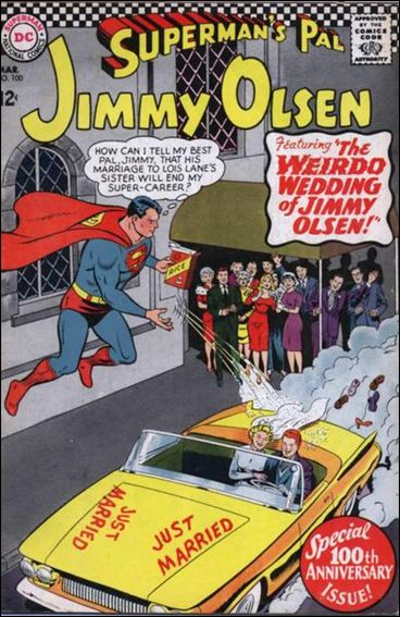 Superman's Pal Jimmy Olsen 100-A by DC