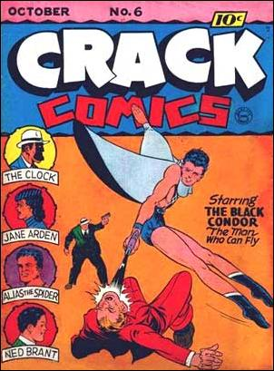 Crack Comics 6-A by Quality