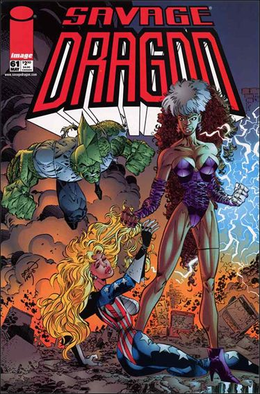 Savage Dragon (1993) 61-A by Image
