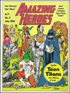 Amazing Heroes 2-A by Fantagraphics