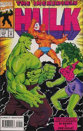 Incredible Hulk (1968) 412-A