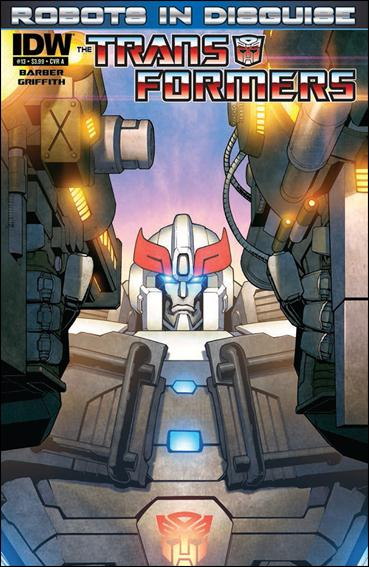 Transformers: Robots in Disguise 13-A by IDW