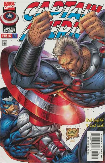 Captain America (1996) 4-A by Marvel