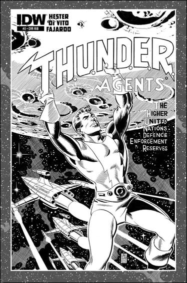 T.H.U.N.D.E.R. Agents (2013) 2-C by IDW