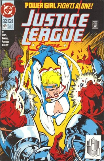 Justice League Europe 49-A by DC