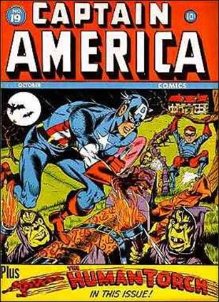 Captain America Comics (1941) 19-A