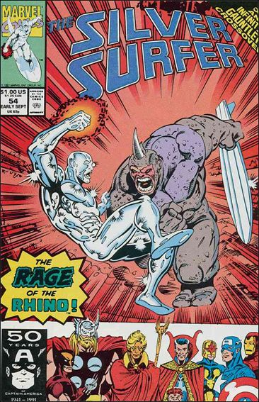 Silver Surfer (1987) 54-A by Marvel