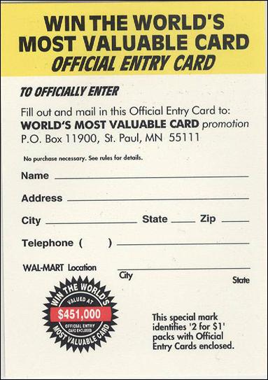 1996 Fleer X-Men Wal-Mart 7-A by Fleer