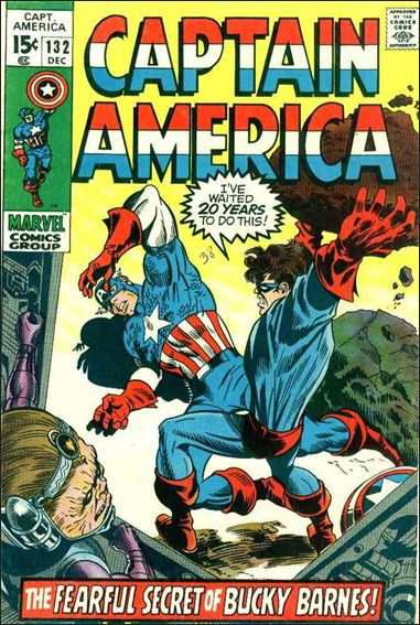 Captain America (1968) 132-A by Marvel