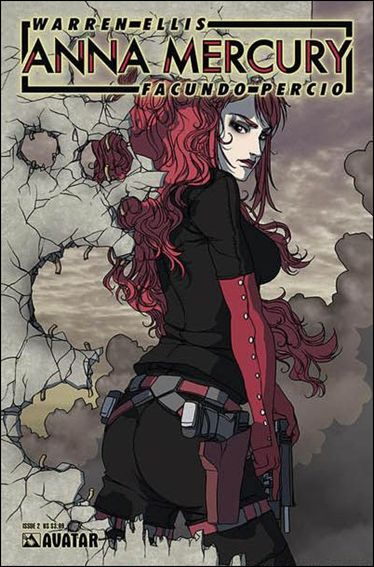 Anna Mercury 2-D by Avatar Press