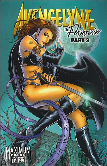 Avengelyne (1996) 12-A by Maximum Press