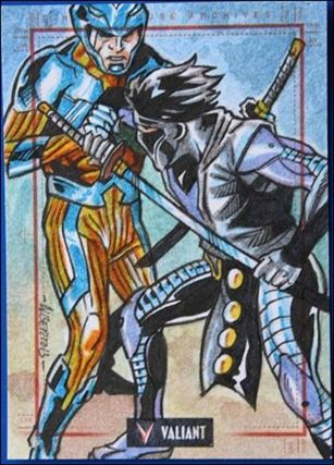2013 Valiant Comics Preview Trading Card Set (Sketch Card Subset) AS-05-A
