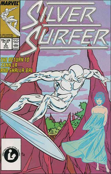 Silver Surfer (1987) 2-A by Marvel