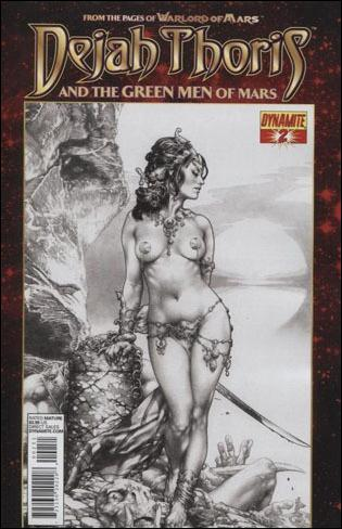 Dejah Thoris and the Green Men of Mars 2-E by Dynamite Entertainment