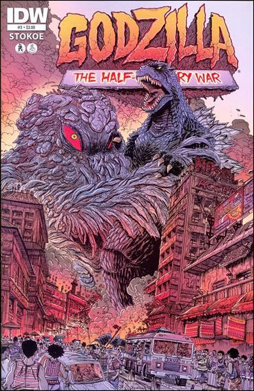 Godzilla: Half Century War  3-A by IDW