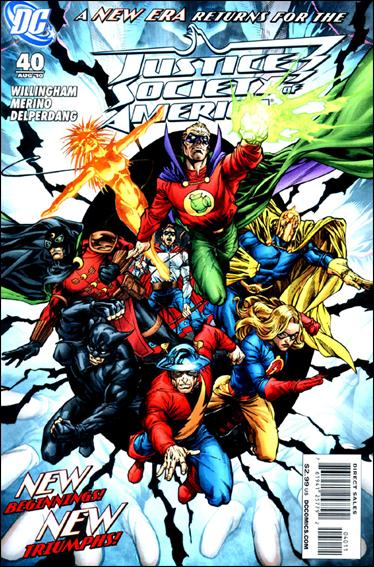 Justice Society of America (2007) 40-A by DC