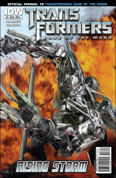 Transformers: Rising Storm 3-A by IDW