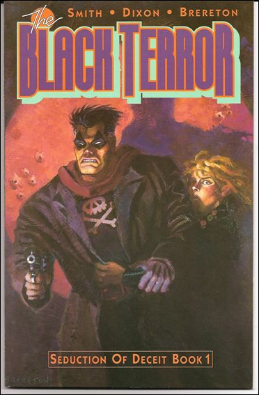 Black Terror (1989) 1-A by Eclipse