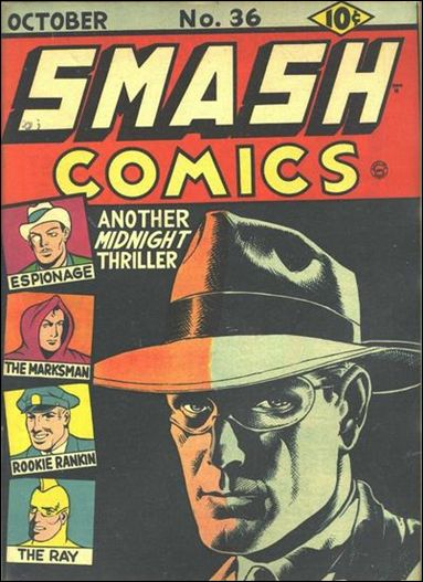 Smash Comics (1939) 36-A by Quality