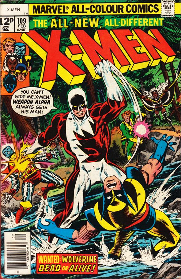 X-Men (1963) 109-B by Marvel