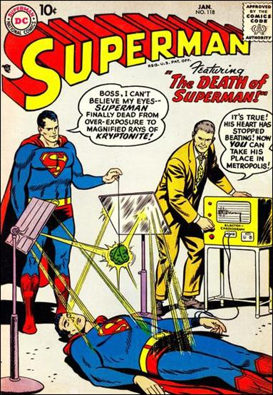 Superman (1939) 118-A by DC