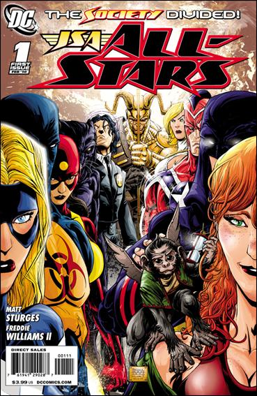 JSA All-Stars 1-A by DC