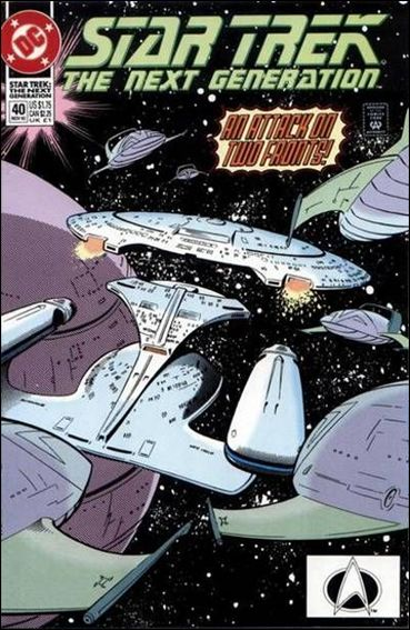 Star Trek: The Next Generation (1989) 40-A by DC