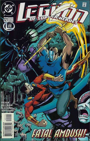 Legion of Super-Heroes (1989) 121-A by DC