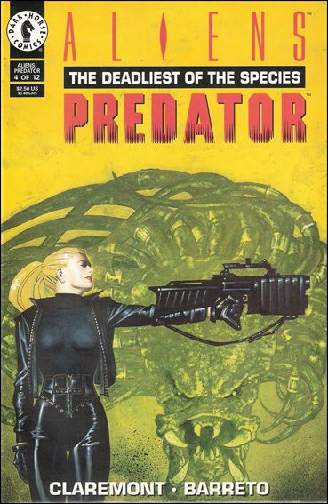 Aliens/Predator: The Deadliest of the Species 4-A by Dark Horse