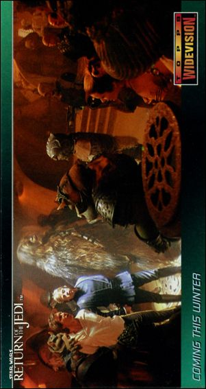 Star Wars: Return of the Jedi Widevision (Promo) P6-A by Topps
