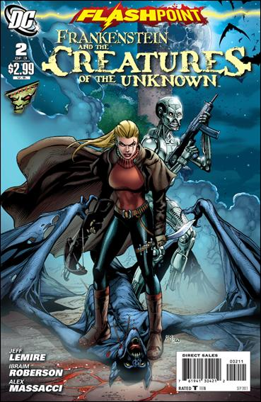 Flashpoint: Frankenstein & the Creatures of the Unknown 2-A by DC