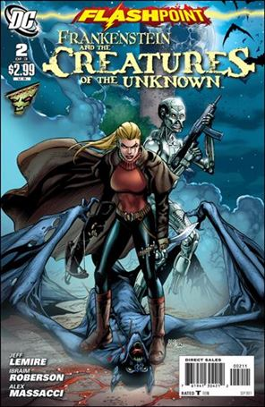 Flashpoint: Frankenstein & the Creatures of the Unknown 2-A