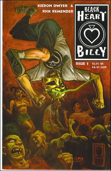 Black Heart Billy 1-A by Slave Labor Graphics (SLG) Publishing