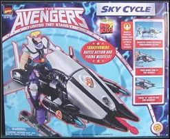 Avengers: United They Stand (Animated) Vehicles Sky Cycle by Toy Biz