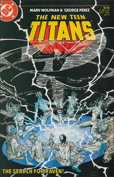 New Teen Titans (1984) 2-A by DC