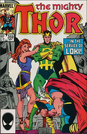 Thor (1966) 359-A by Marvel