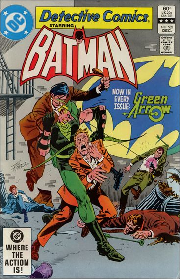 Detective Comics (1937) 521-A by DC
