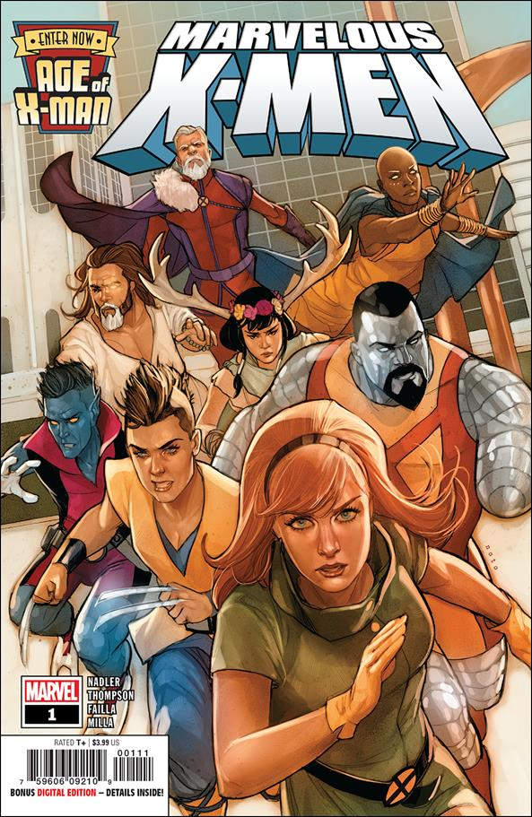 Age of X-Man: Marvelous X-Men 1-A by Marvel