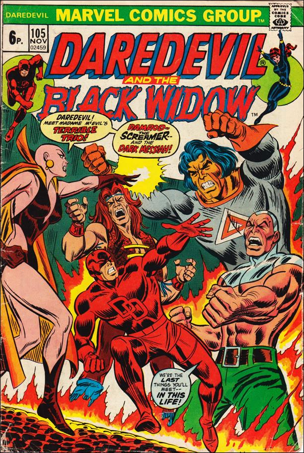 Daredevil (1964) 105-B by Marvel