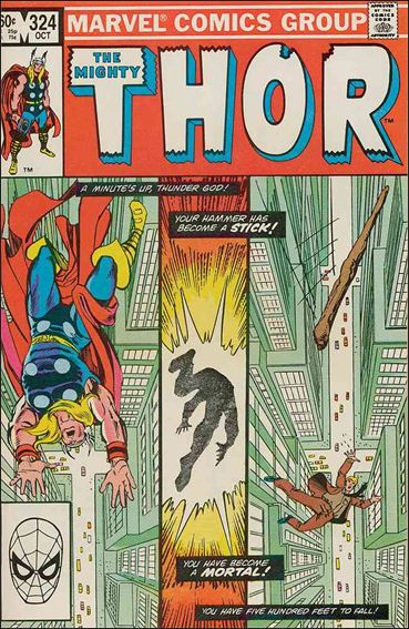 Thor (1966) 324-A by Marvel