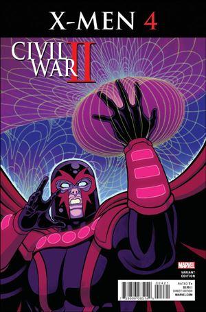 Civil War II: X-Men 4-B