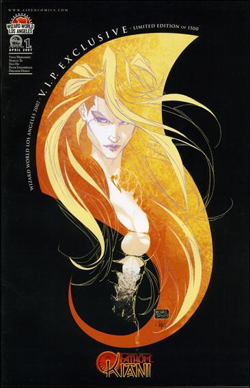 Michael Turner's Fathom: Kiani (2007) 1-E by Aspen