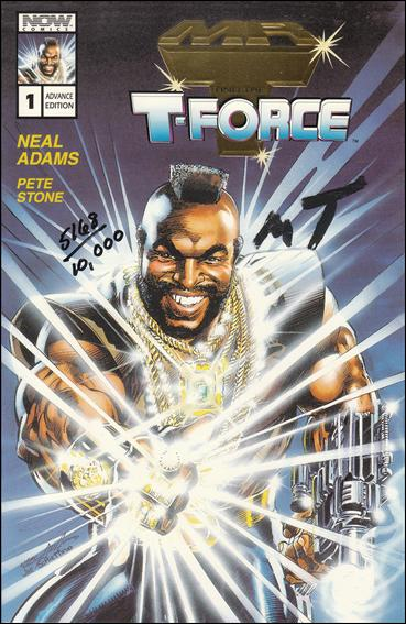 Mr. T and the T-Force 1-D by Now Comics