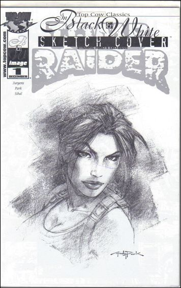 Top Cow Classics in Black and White: Tomb Raider 1-B by Top Cow