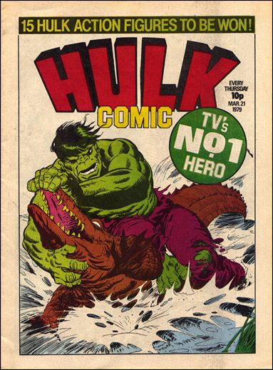 Hulk Comic (UK) 3-A by Marvel UK