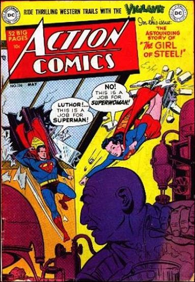 Action Comics (1938) 156-A by DC