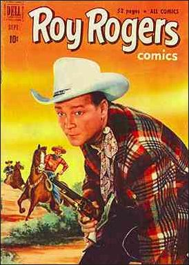 Roy Rogers Comics 45-A by Dell