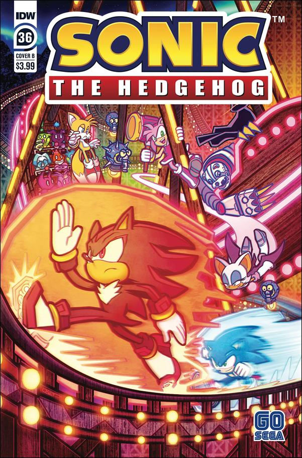 Sonic the Hedgehog (2018) 36-B by IDW