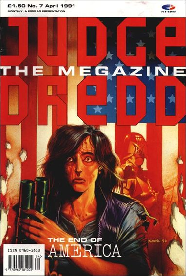 Judge Dredd Megazine (1990) 7-A by Fleetway