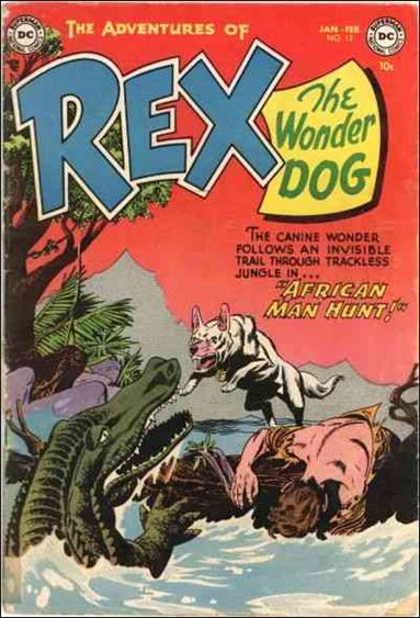 Adventures of Rex the Wonder Dog 13-A by DC